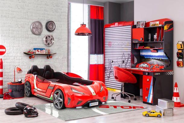 Champion Racer-Autós Gyerekszoba Bútor