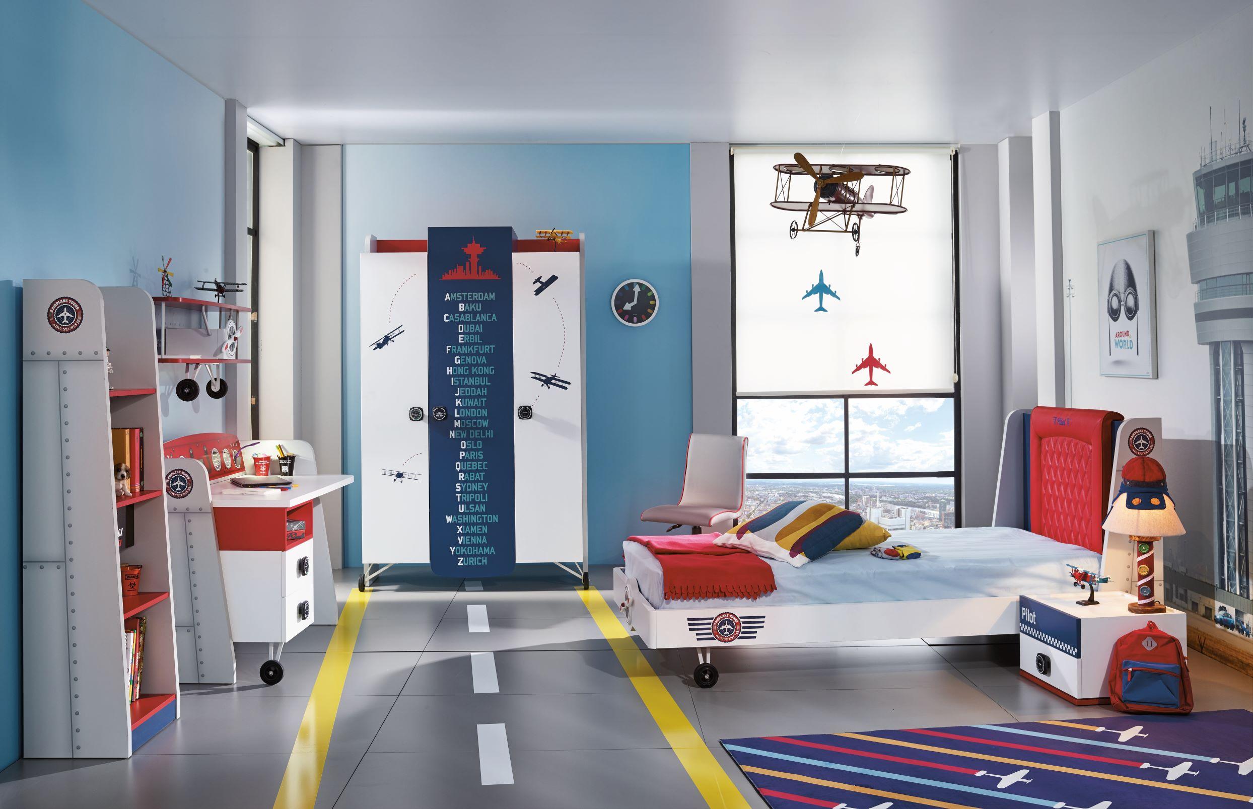 Pilot-Repülős Gyerekszoba Bútor
