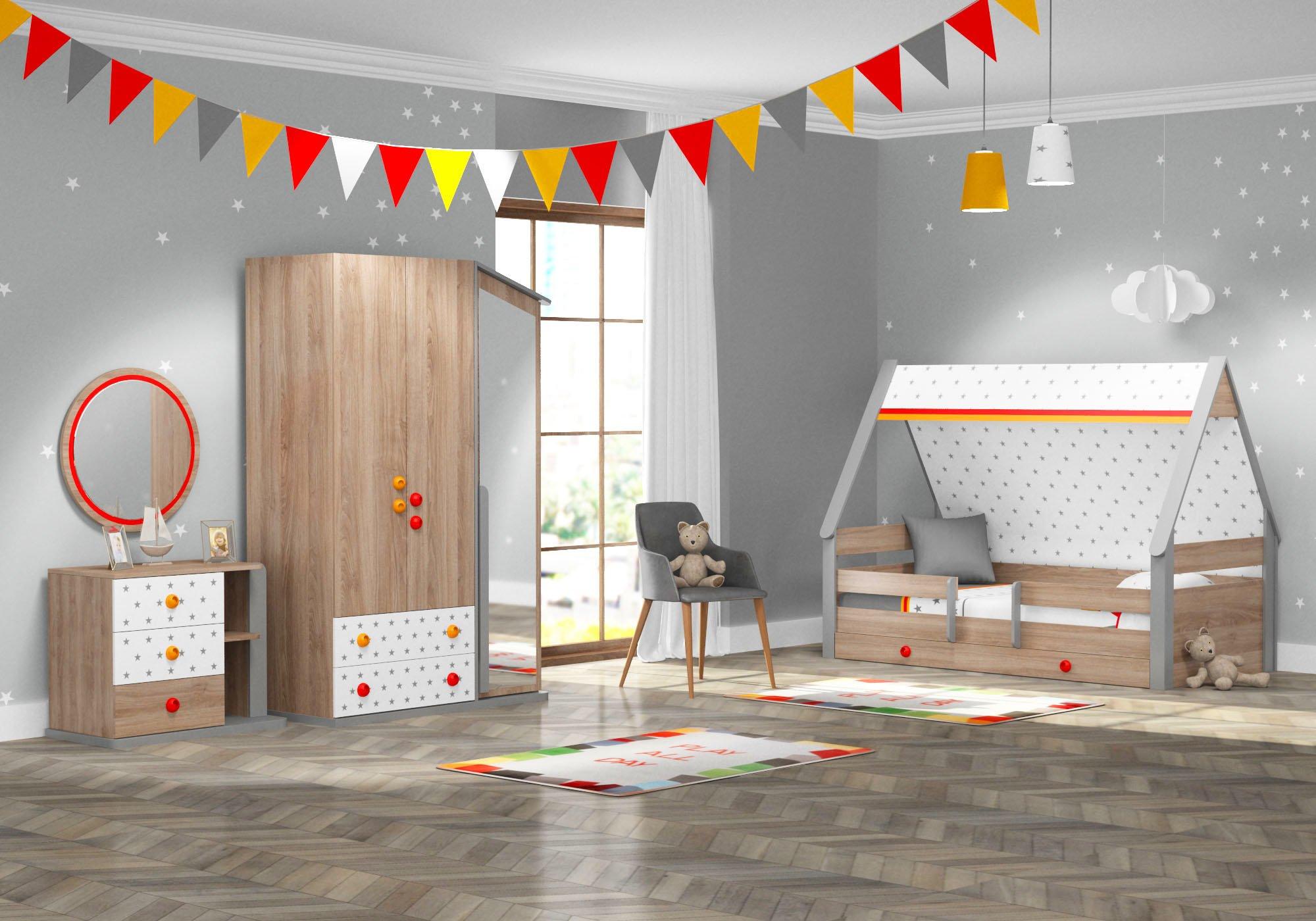 Montessori Hut Gyerekszoba Bútor