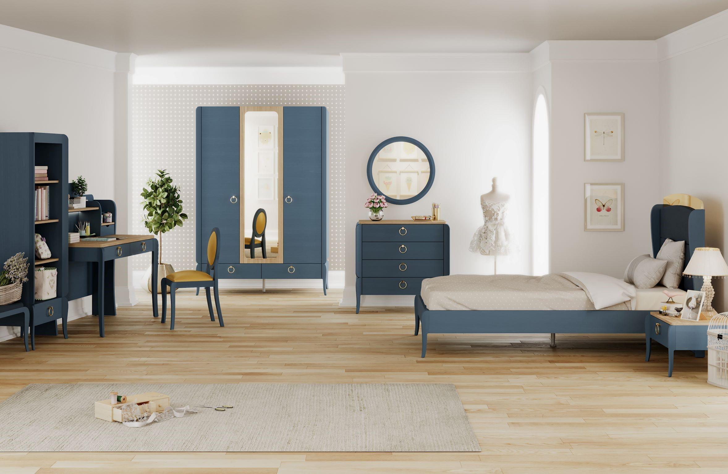 Elegant Blue Ifjúsági Bútor Szett