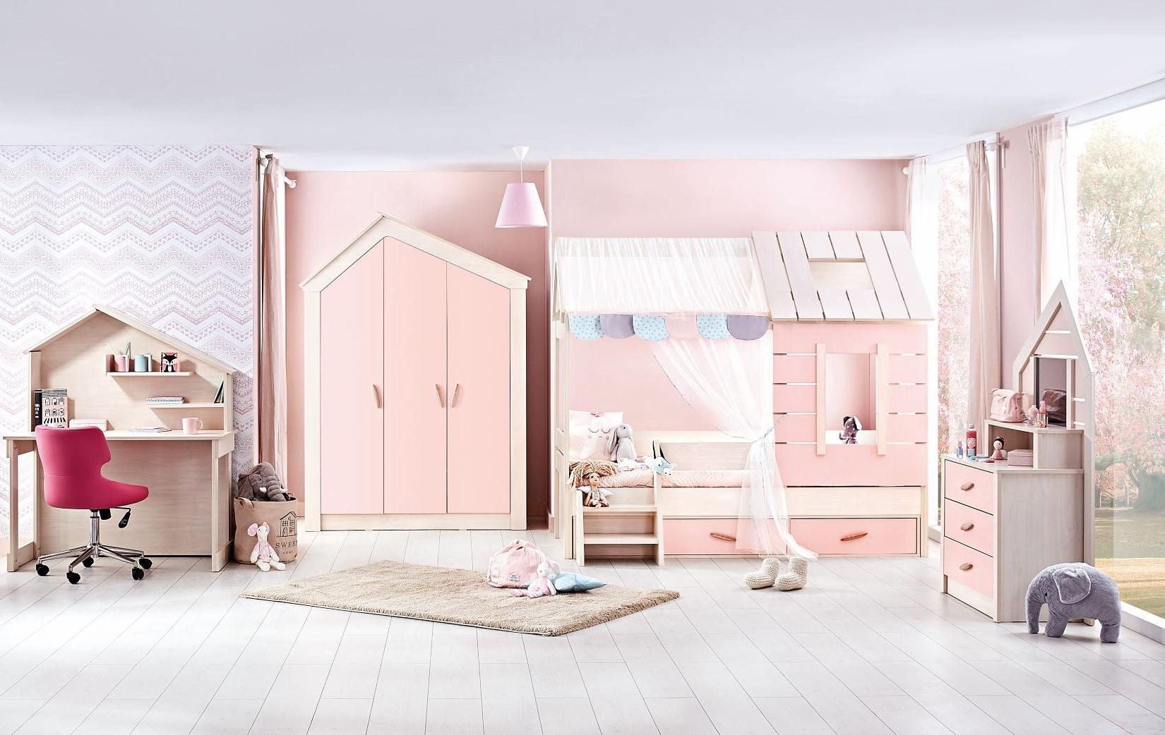 My House Pink Gyerekszoba Bútor