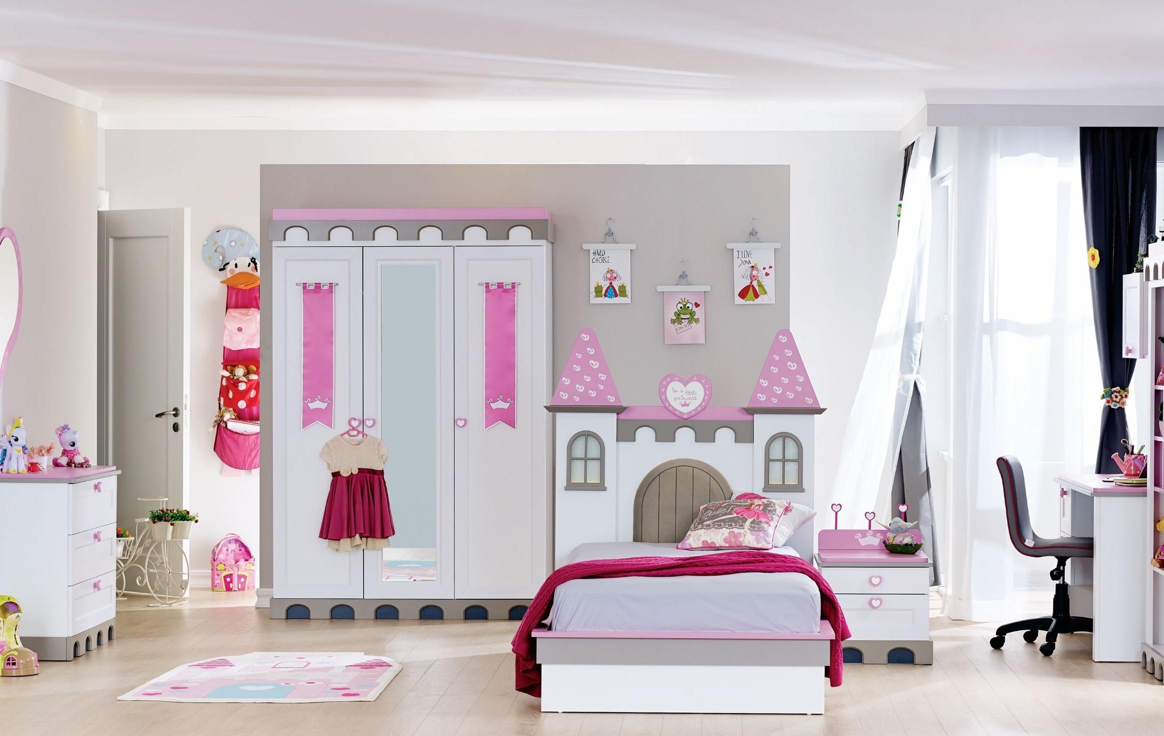 Castle-Hercegnős Gyerekszoba Bútor