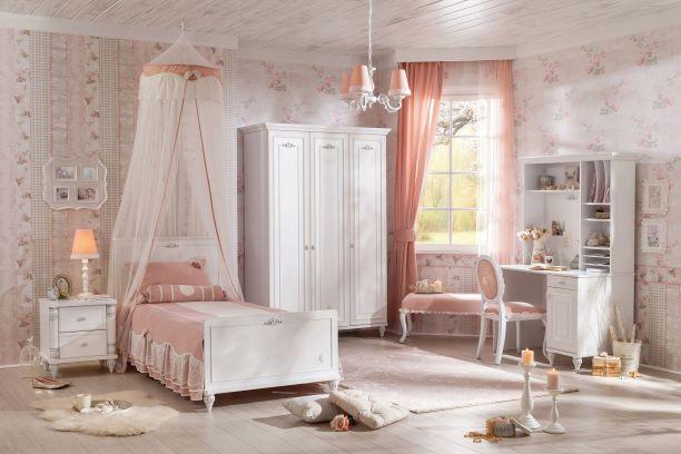 Romantica Ifjúsági Bútor Szett
