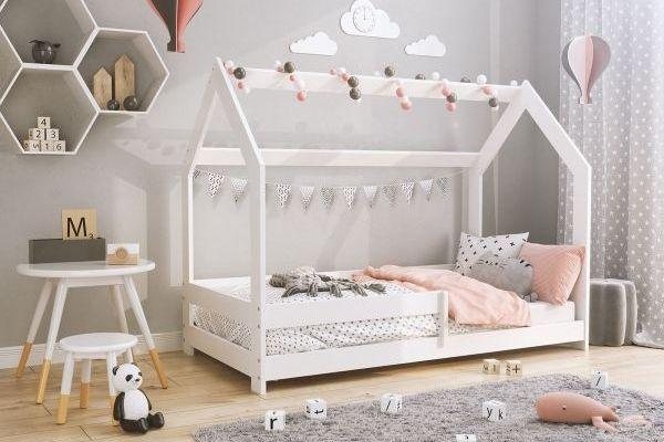 Magnat fehér D5 házikó ágy