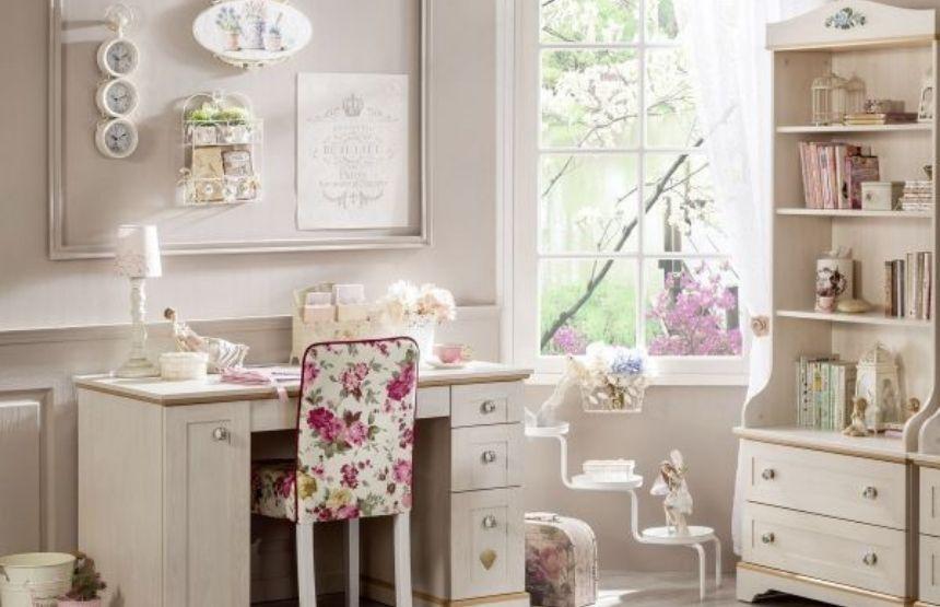 Cilek Flora gyerek íróasztal