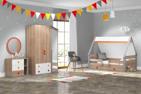 Kupa Montessori Hut házikó ágy