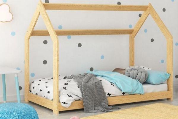 Magnat fehér D2 házikó ágy