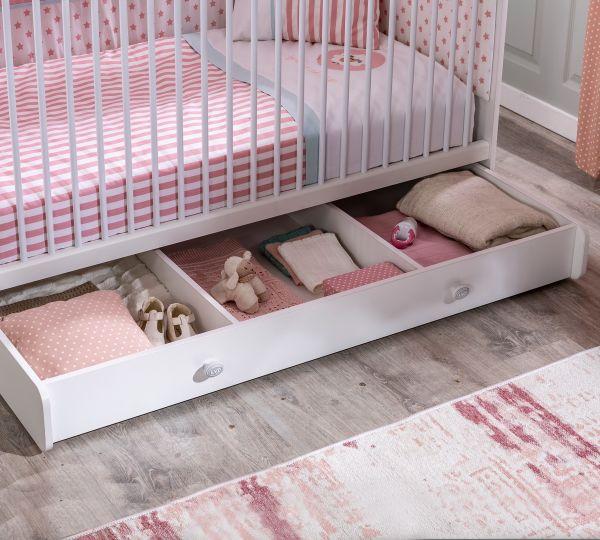 Cilek Romantica Baby Kiságy Tároló