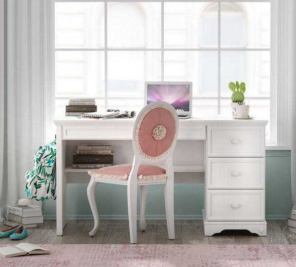 Cilek Rustic White Íróasztal