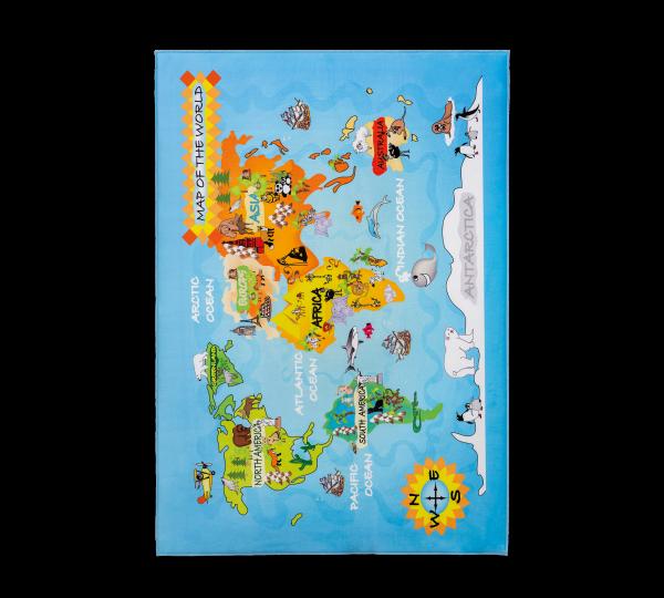 Cilek Soft Gravity World Szőnyeg (100x150 Cm)