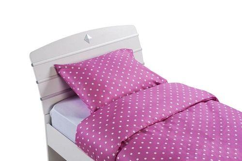 Cilek Dotted Pink Ágynemű Garnitúra (160x200, 50x70 Cm)