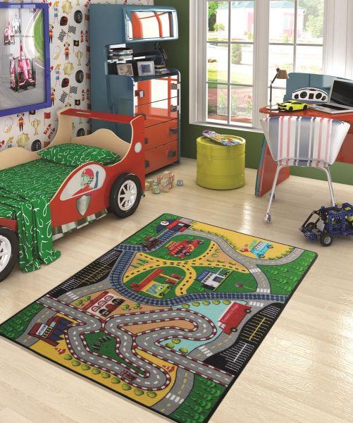 Confetti Autópálya Szőnyeg (133x190 Cm)