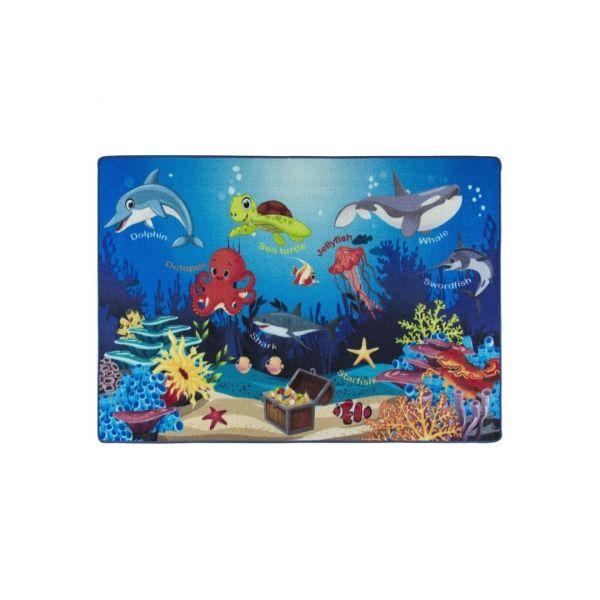 Confetti Óceán Szőnyeg (133x190 Cm)