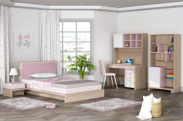 Kupa City Pink Íróasztal Felsõ része