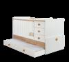 Cilek Natura Baby Kombi Kiságy Pótággyal (80×180 Cm) 20.31.1015.00